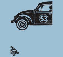 VW Herbie 53 vintage Kids Tee