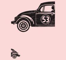 VW Herbie 53 vintage One Piece - Short Sleeve