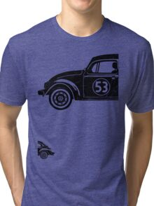 VW Herbie 53 vintage Tri-blend T-Shirt