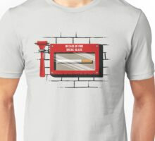 In case of fire.... Unisex T-Shirt