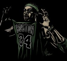 Paul Pierce by Pablo Díaz