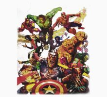 Marvel Zombie T-shirt by xrobertxdavisx