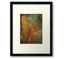 The Lady with the Burden on her Back Framed Print