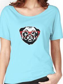 Nerd Pug Women's Relaxed Fit T-Shirt