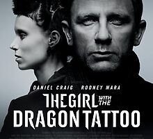 The Girl with the dragon tattoo Film poster by RyuuzakiNL