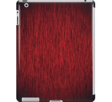 Red Noise iPad Case/Skin