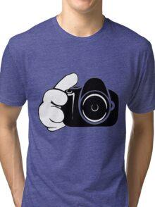 snap snap Tri-blend T-Shirt
