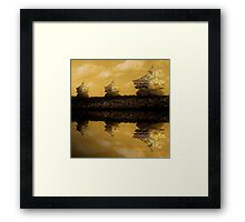 ©DA The Island Framed Print