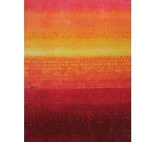 Desert Horizon original painting Photographic Print