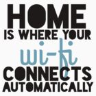 Home Is Where Your Wi-fi Connects Automatically by Jo Alfie Wimborne