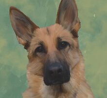 German Shepherd  by Moonlake
