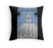 Window Dome Throw Pillow