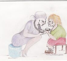 The Gossip Whisperers. by merrilymccarthy