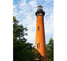 Currituck Beach Lighthouse in Carolla, NC Photographic Print