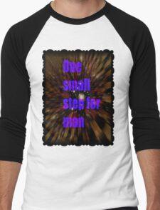 one small step for man Men's Baseball ¾ T-Shirt
