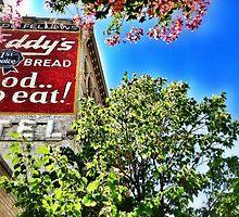Eddy's Bread Ghost Sign - Iron Front Building by Sue Morgan