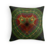 Ol' Plaid Face Throw Pillow