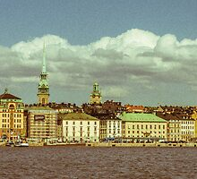 Old Town Stockholm (Gamla Stan) by xaon