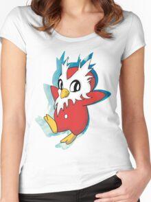 DeliBird Women's Fitted Scoop T-Shirt