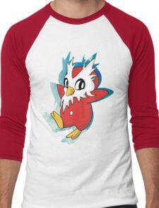 DeliBird Men's Baseball ¾ T-Shirt