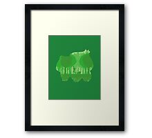 Green companion Framed Print