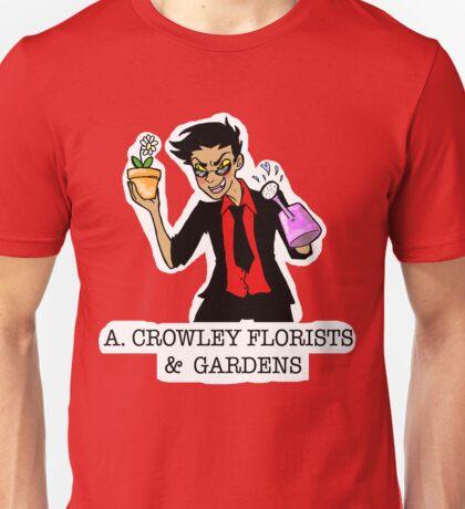 A. Crowley, Florists & Gardens Unisex T-Shirt