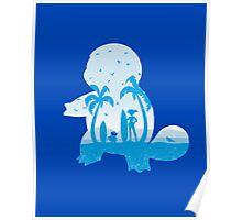 Blue companion Poster