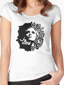 Fairuz Women's Fitted Scoop T-Shirt