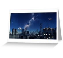Evening Light - Galaxies Edge Greeting Card