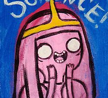 Science! - Princess Bubblegum by crushedheads