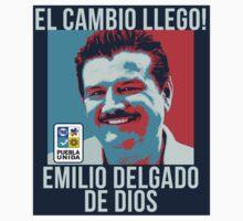 Mi voto es para EMILIO DELGADOD DE DIOS!! by drunkenazteca