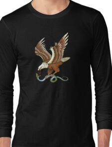 Eagle and Snake T-Shirt Long Sleeve T-Shirt