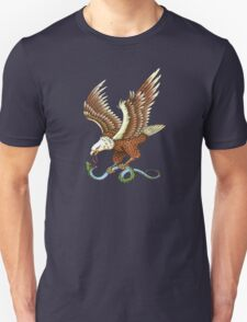 Eagle and Snake T-Shirt T-Shirt