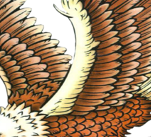 Eagle and Snake T-Shirt Sticker