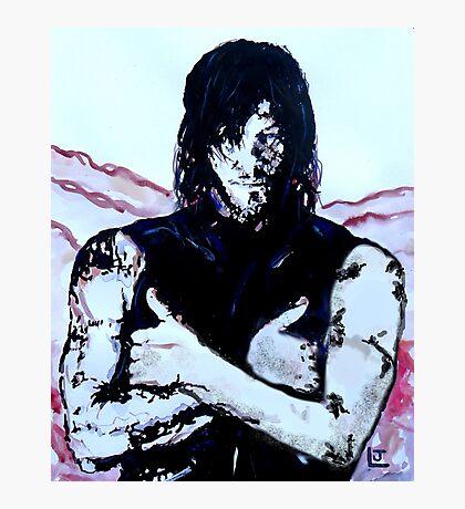 Walking Dead Daryl Dixon Photographic Print