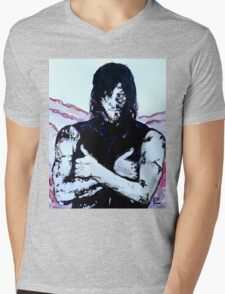 Walking Dead Daryl Dixon Mens V-Neck T-Shirt