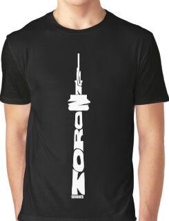 Toronto CN Tower White Graphic T-Shirt