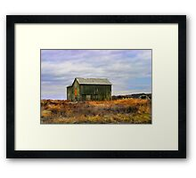 """ A barn do ment "" Framed Print"