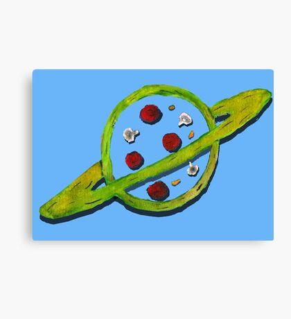 Pizza Planet Alien logo Canvas Print