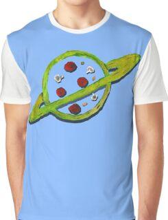 Pizza Planet Alien logo Graphic T-Shirt