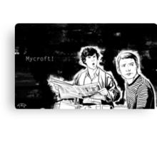 Mycroft! Canvas Print