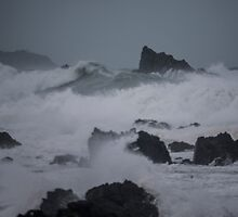 Island Bay, the Storm  000012 by Marc Hill