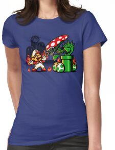 Game Over Man, GAME OVER! Womens Fitted T-Shirt
