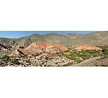 Cerro de los Siete Colores Photographic Print
