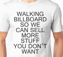 Walking Billboard Unisex T-Shirt