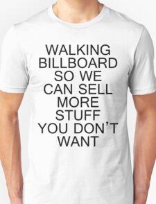 Walking Billboard T-Shirt
