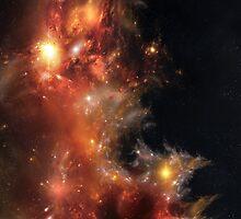 Blaze Nebula by kfedukowski