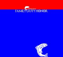 House Tully: Family Duty Honor - House Color by Zahaidies