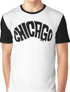 Chicago Bean Black Graphic T-Shirt