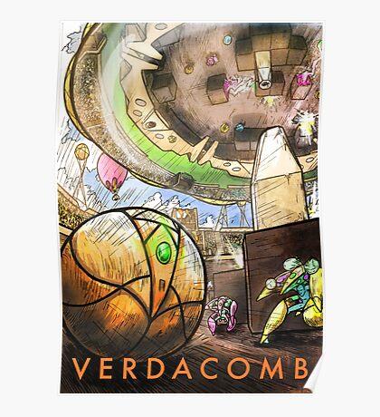 VERDACOMB Arena Poster Poster